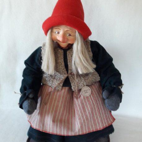 swedish gnome sitting female